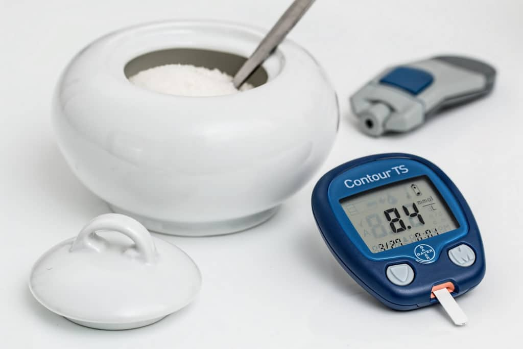 Diabetes blood sugar monitor